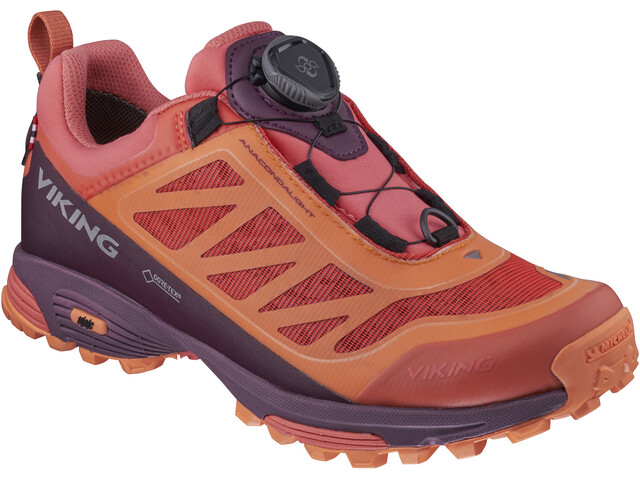 Viking Footwear Anacondalight Boa GTX Scarpe, coral/plum